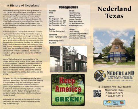 Nederland Chamber Brochure