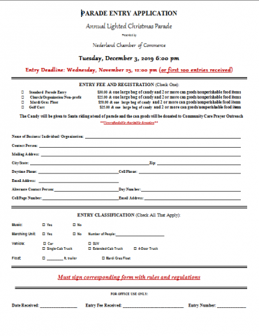 Nederland Christmas Parade 2020 The 2019 Annual Lighted Christmas Parade | Nederland Chamber of